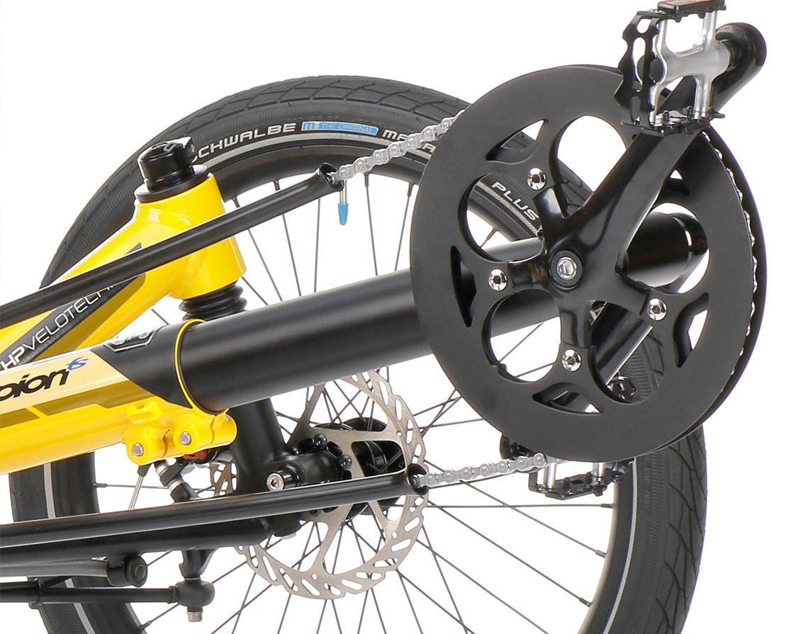 full suspension foldable trike scorpion fs 20 chaintubes