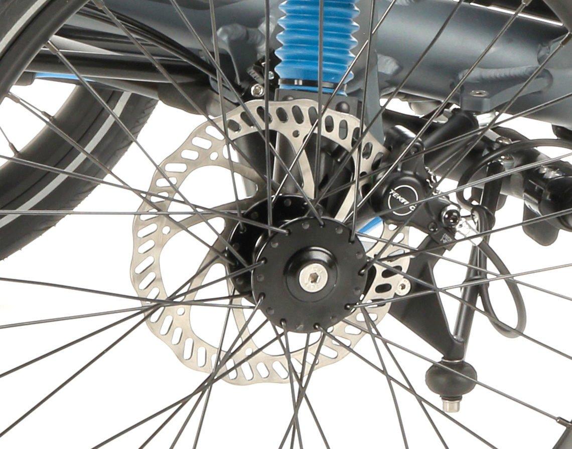 full suspension foldable trike scorpion fs 20 disc brakes